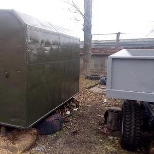 Кунг демонтируемый с автомобиля ГАЗ-66,   полностью оцинкован внутри,